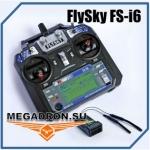 Аппаратура радиоуправления шесть каналов FlySky FS-i6 (Пульт и п